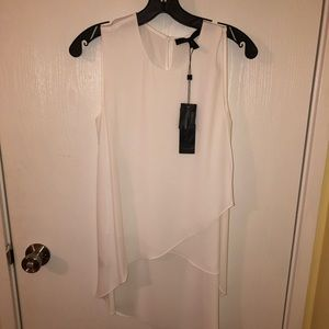 BCBG white top